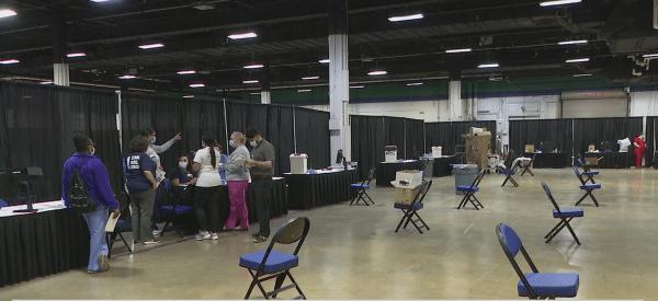 Cone Health, Guilford County officials prepare mass vaccination site at Greensboro Coliseum