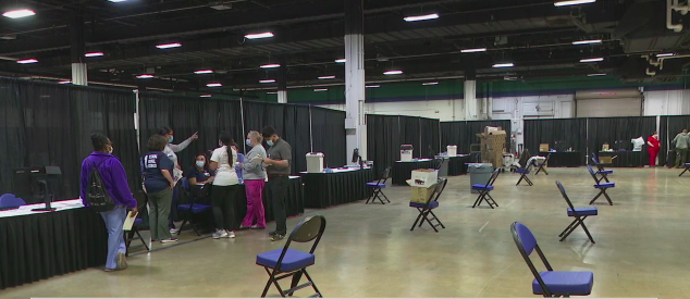 Cone Health, Guilford County officials prepare mass vaccination site at Greensboro Coliseum