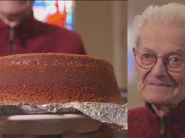 Winston-Salem World War II veteran makes a reputation out of giving away his famous 7 Up pound cakes; Check out the recipe!