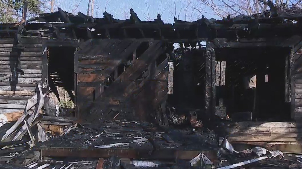 Home erupts in flames on Big Tree Way in Greensboro; Cause still unknown