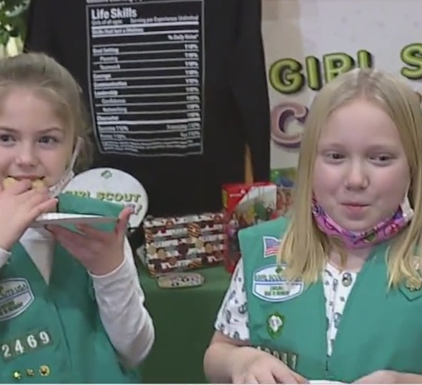 Local girl scouts encounter new hurdles to selling cookies amid the COVID-19 pandemic