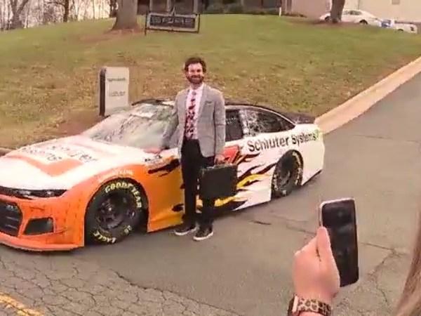 Spire Motorsports brings 7 car back to original Alan Kulwicki shop in NC