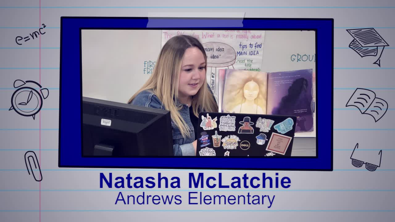Natasha McLatchie is our Educator of the Week