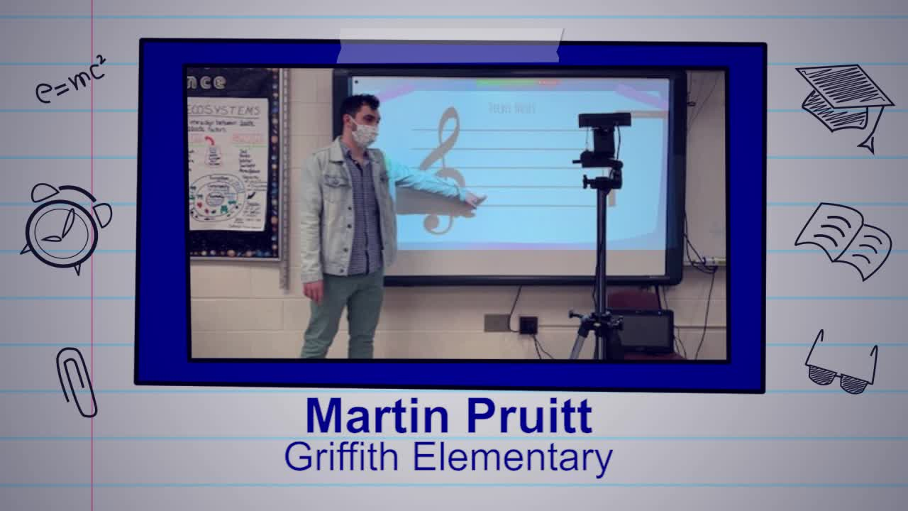 Martin Pruitt is our Educator of the Week