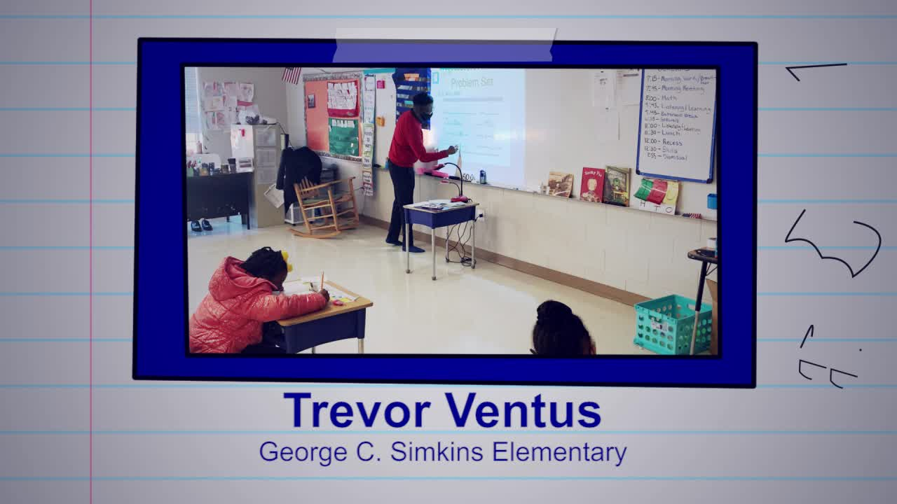 Trevor Ventus is our Educator of the Week