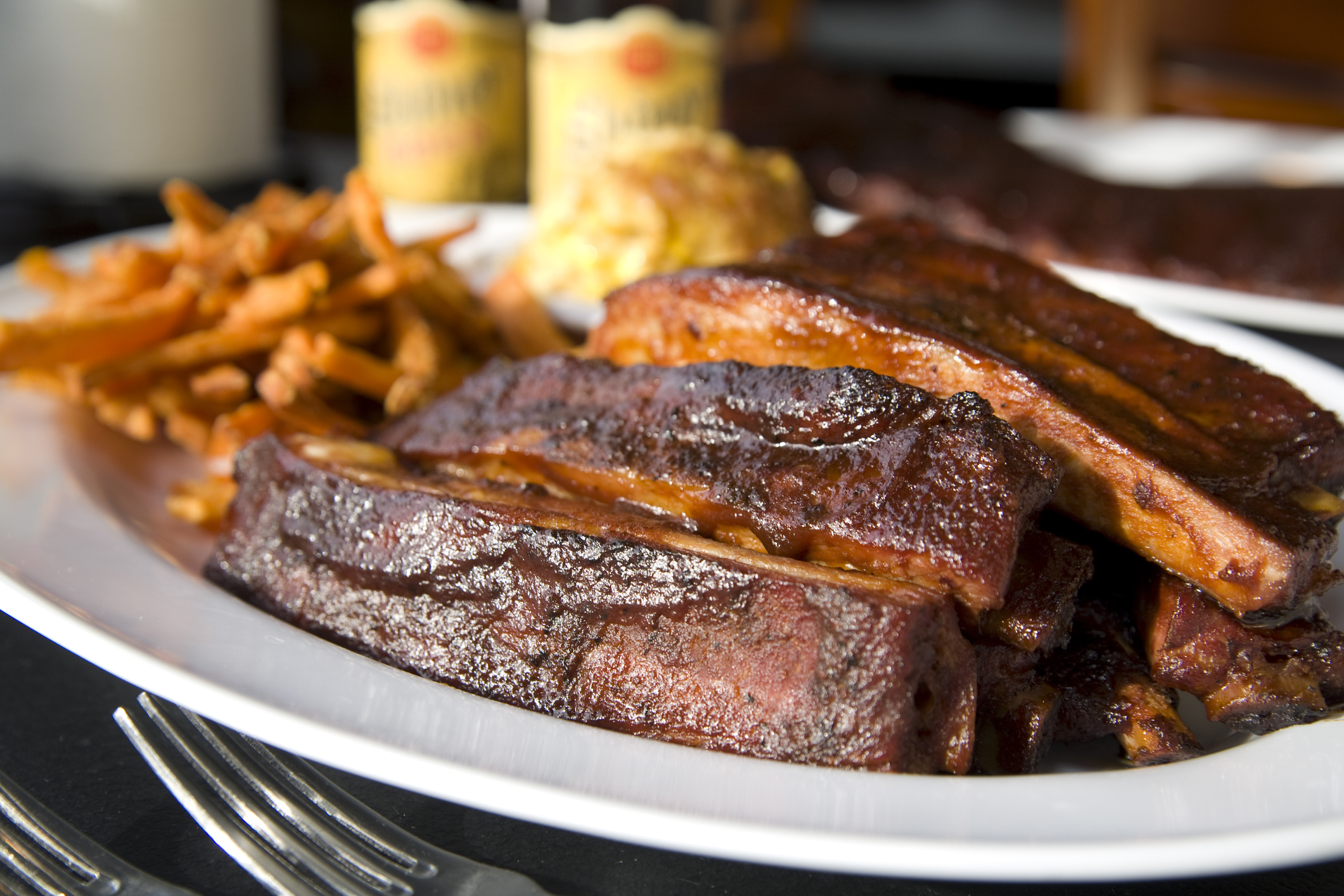 Kansas City-style ribs (Getty Images)