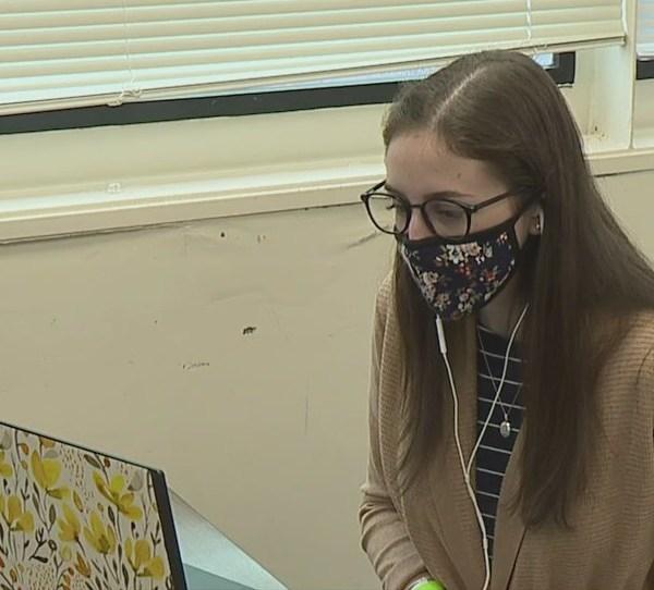 Alamance County woman returns to student teach beside her high school math teacher
