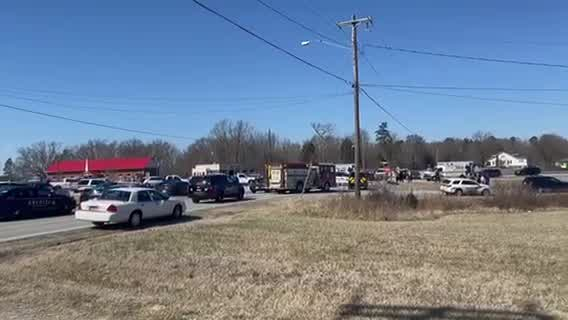 Officer 'hit', airlifted during chase in Rowan County