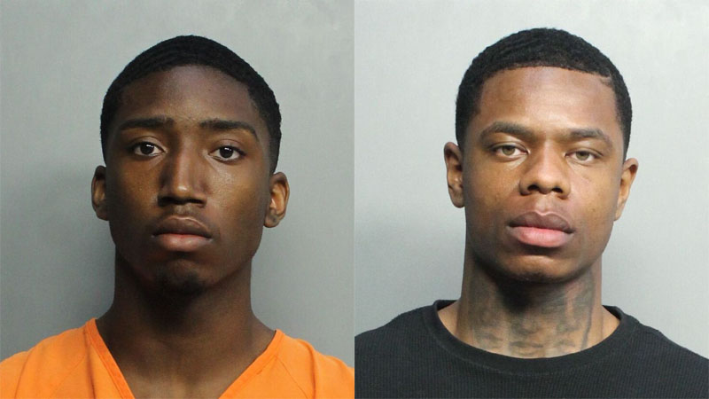 Evoire Collier, 21, and Dorian Taylor, 24