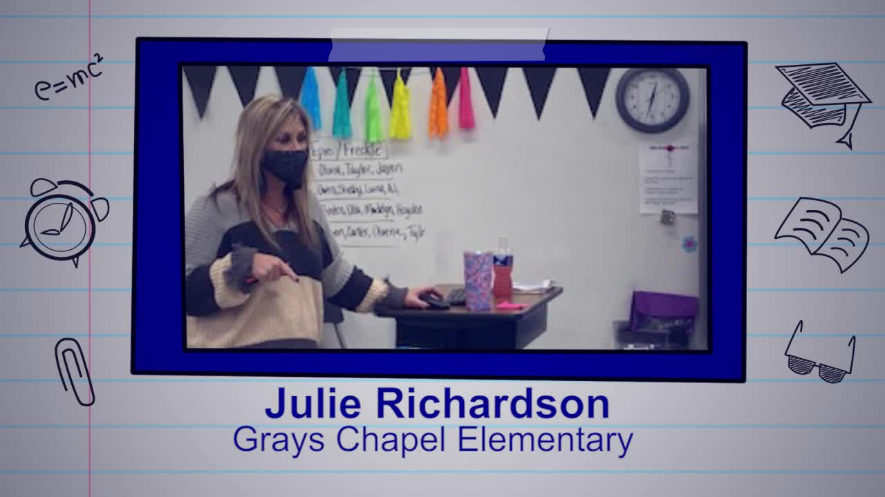 Julie Richardson is our Educator of the Week   myfox8.com