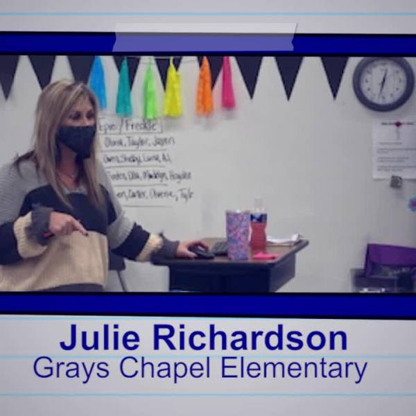 Julie Richardson is our Educator of the Week
