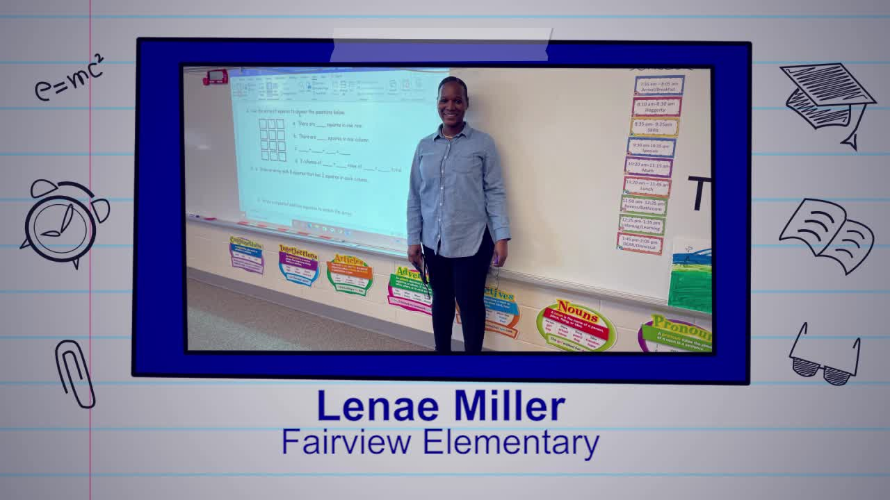 Lenae Miller is our Educator of the Week