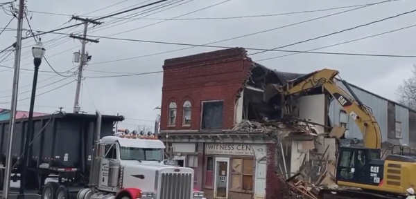 High Point community responds to historic building demolition