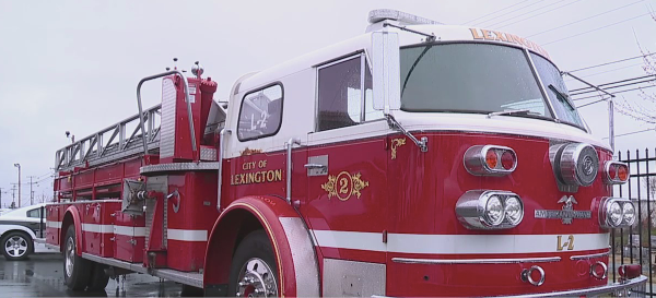 Lexington City Council donating fire truck North Carolina Fallen Firefighters Foundation
