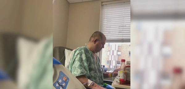 'We've got to shut this virus down': Davidson County man needs double lung transplant due to COVID-19