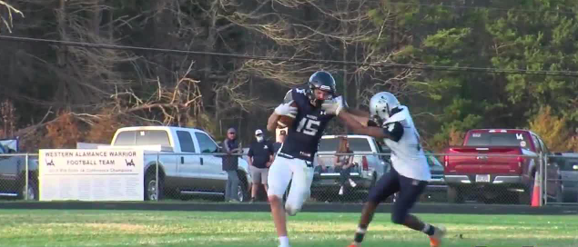 Play of the Night, from Northeast Guilford vs. Western Alamance