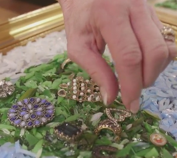 From mother to daughter: Mocksville woman transforms family heirlooms into works of art