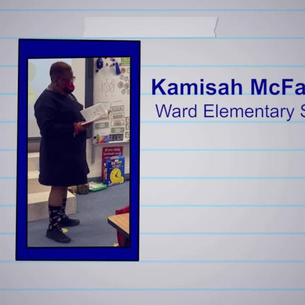 Kamisah McFadden is our Educator of the Week