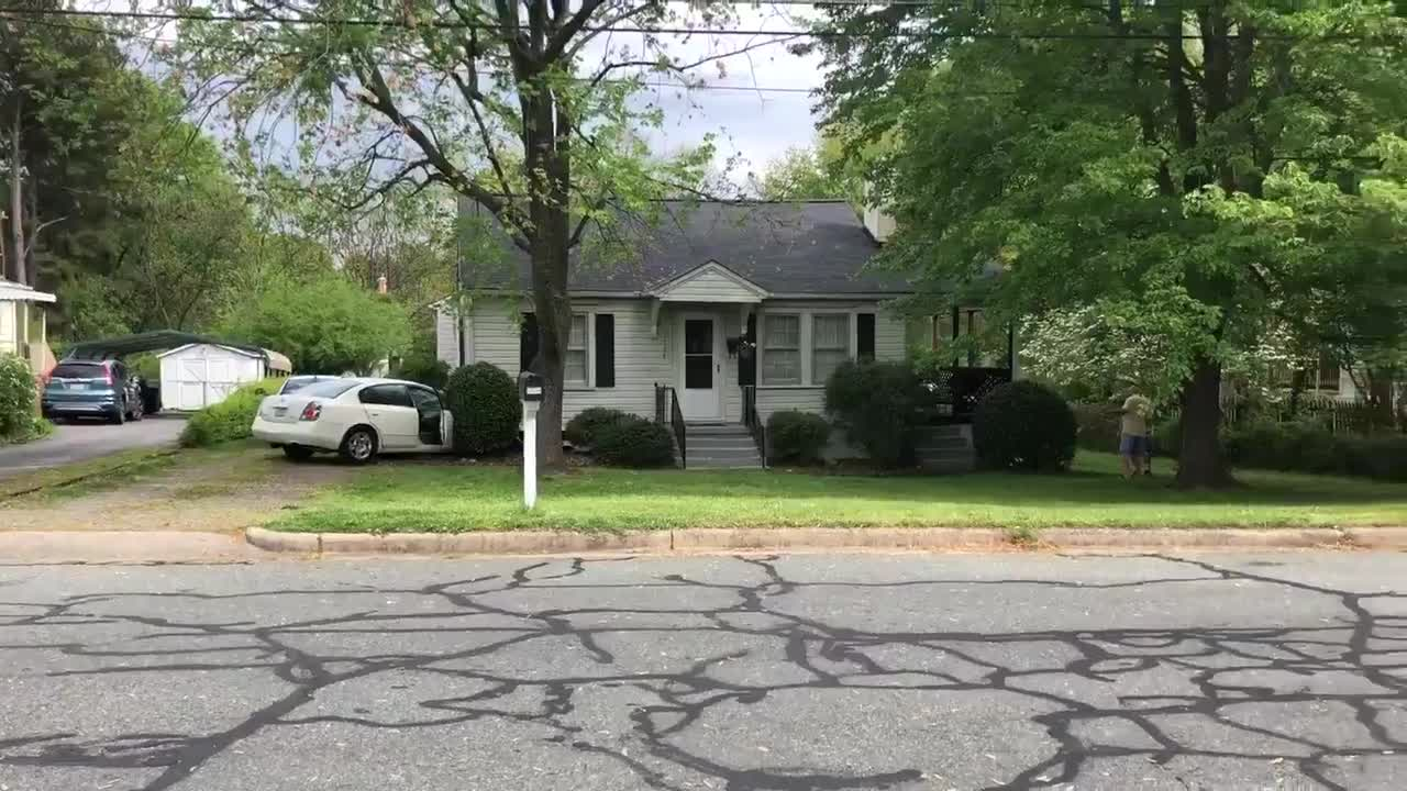Car crashes into home on Piedmont Way in Burlington