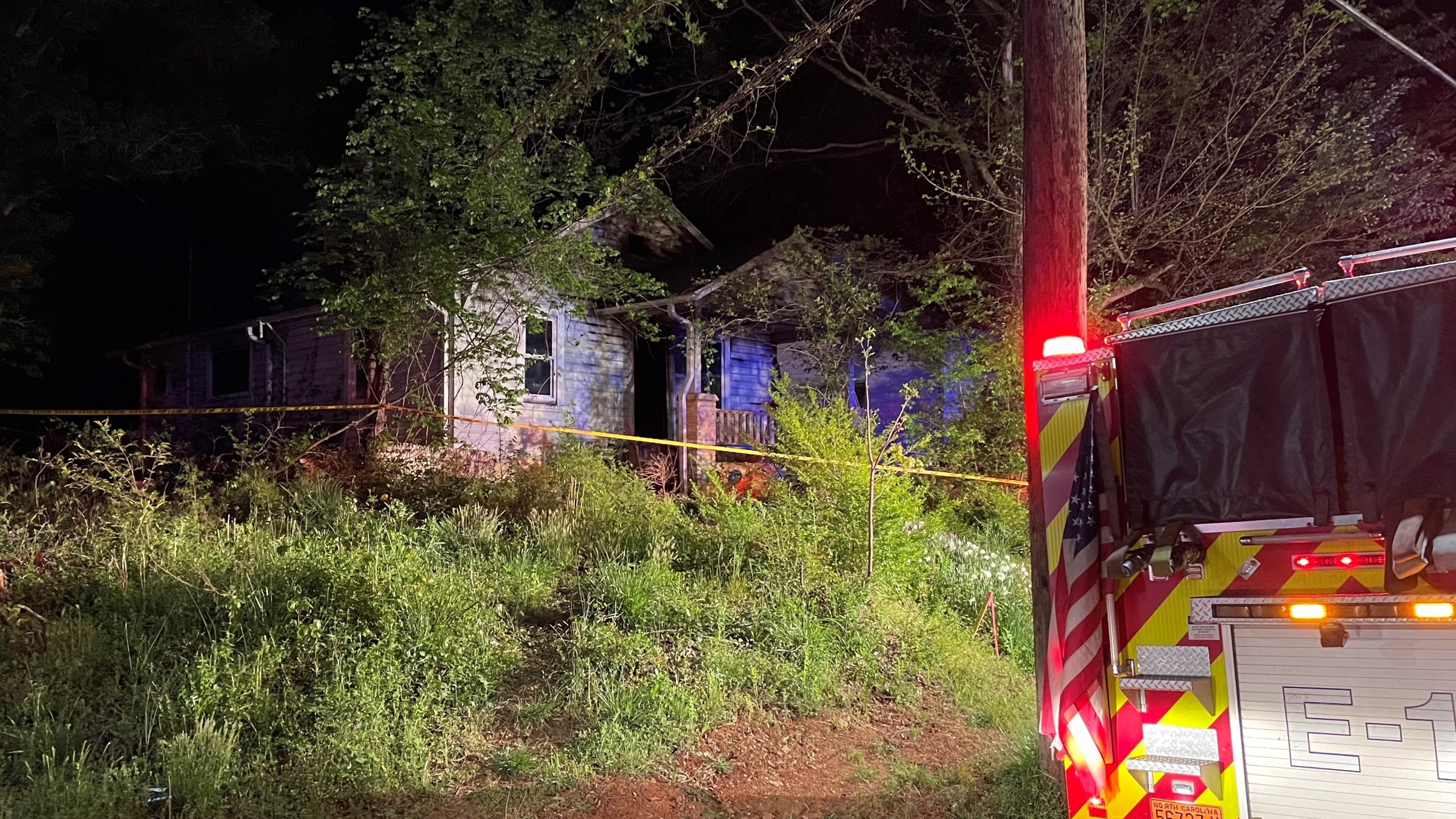 Fire on Cotton Grove Road in Lexington.(City of Lexington Fire Department)