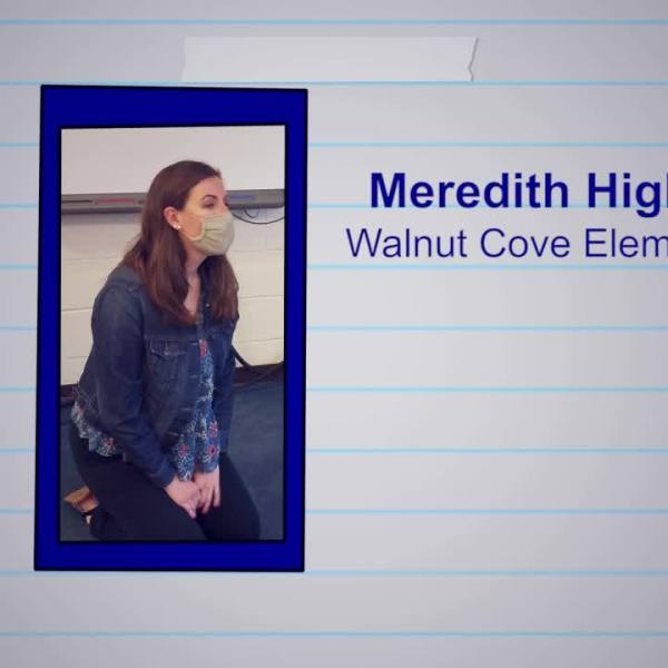 Meredith Highfill is our Educator of the Week