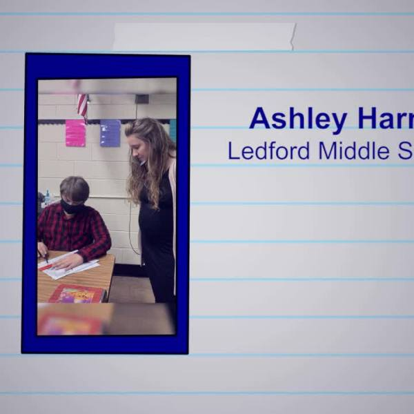 Ashley Harris is our Educator of the Week