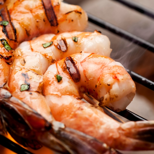 Shrimp on the grill (Getty Images)