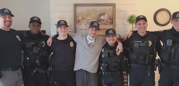 Injured Kernersville officer recovering at home after being shot weeks ago by suspect