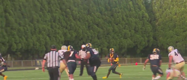 Play of the Night, from Mount Tabor vs. Alexander Central