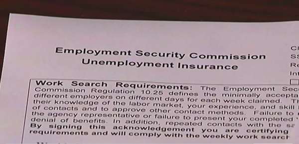 People in Piedmont having trouble with unemployment verification
