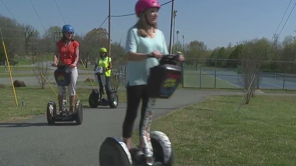 You may see more people cruising around Winston-Salem on Segways. Here's why.