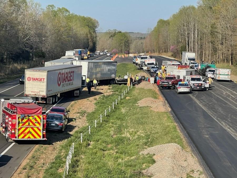 Wreck on I-40 eastbound