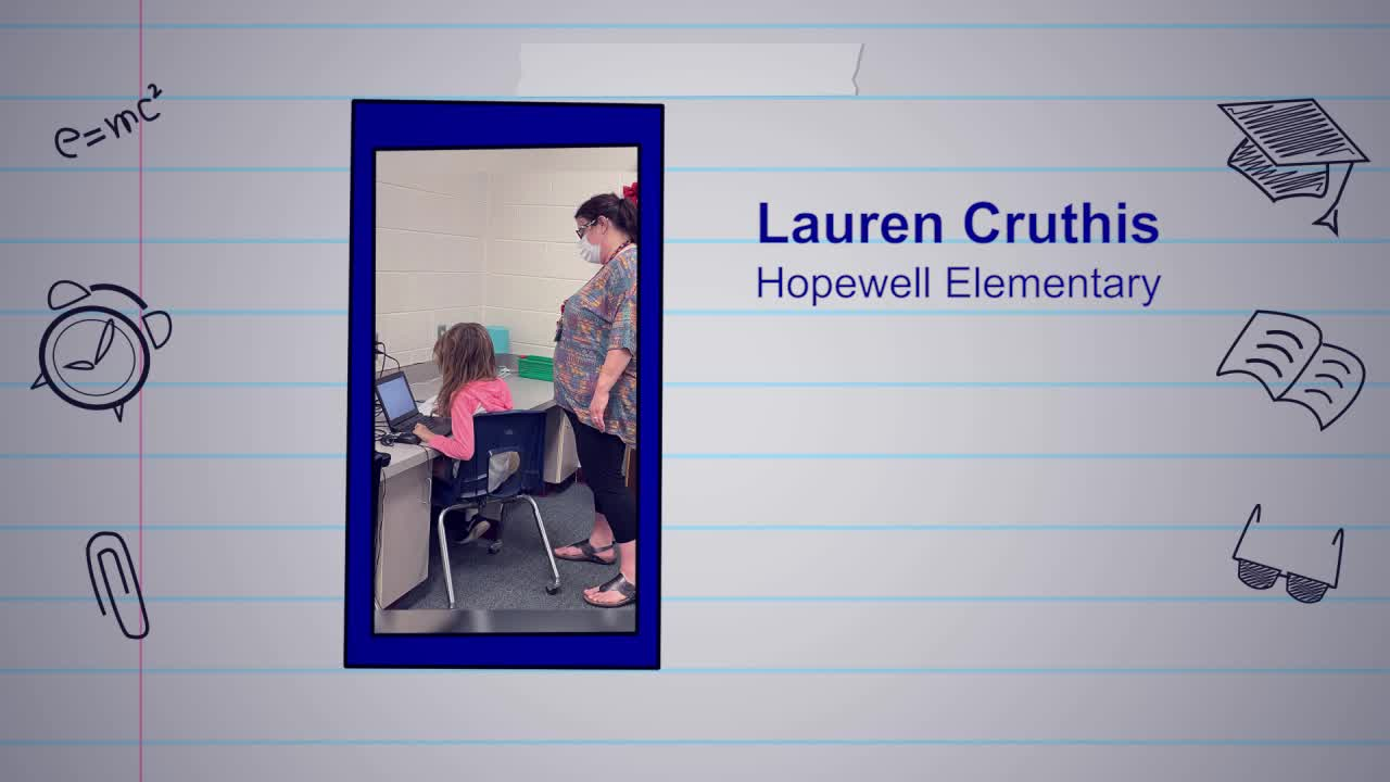 Lauren Cruthis is our Educator of the Week