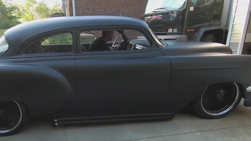 Triad musician finishes custom 1954 Chevrolet Bel Air project that began when he was 19 years old