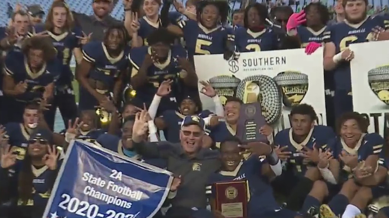 Three Triad schools capture state football championships