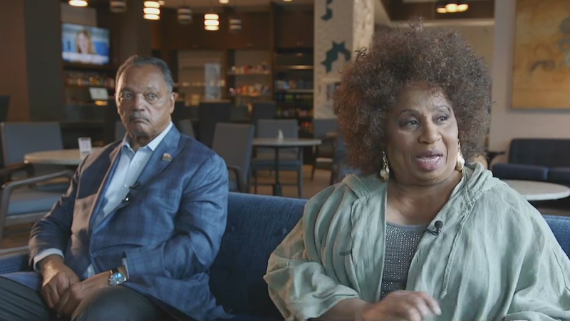 Rev. Jesse Jackson, wife Jacqueline talk state of race and civil rights in America