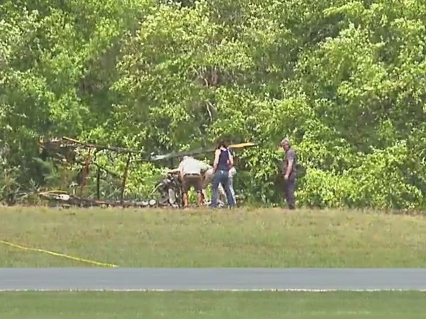 Rockingham County plane was taking off before it crashed