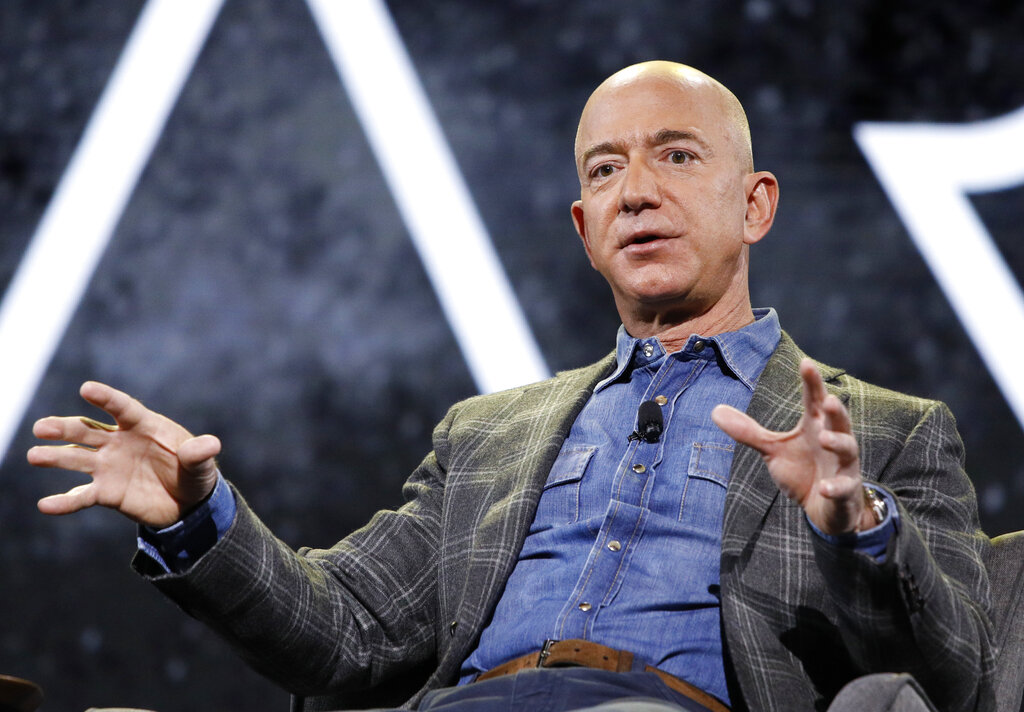 Petition to stop Amazon founder Jeff Bezos from returning to Earth after space trip has over 22,000 signatures
