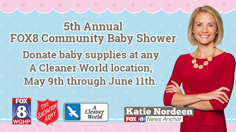 FOX8 Community Baby Shower