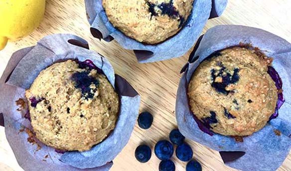 School's almost out! Check out this blueberry buttermilk muffin recipe to keep those kids happy and healthy