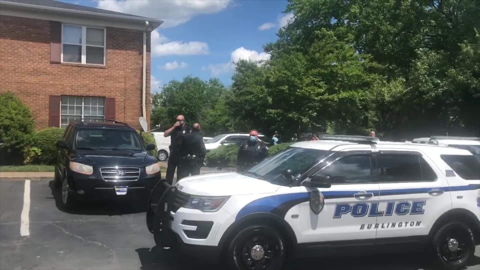 Juvenile taken to hospital after shooting in Burlington