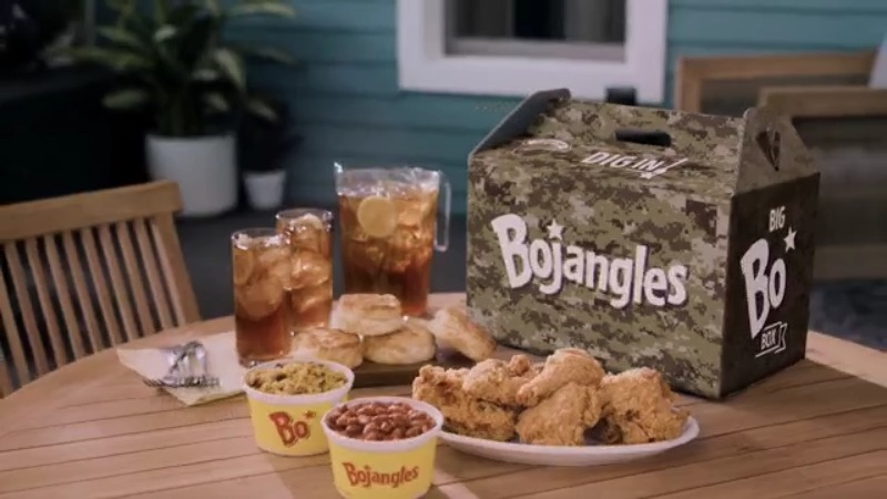 Bojangles reveals new Camo Big Bo Box to benefit families of wounded, fallen soldiers