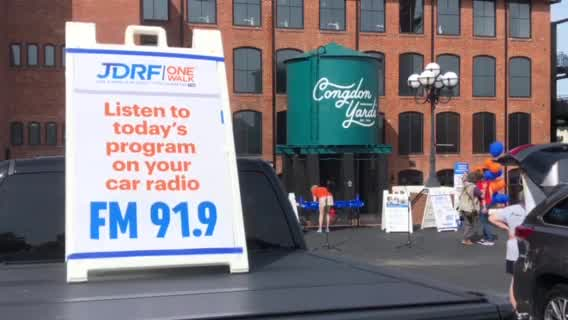JDRF One Walk held in High Point to raise money for juvenile diabetes research