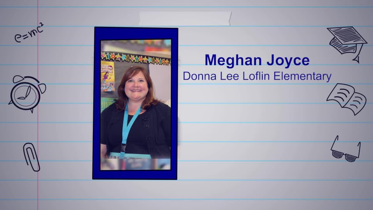 Meghan Joyce is our Educator of the Week