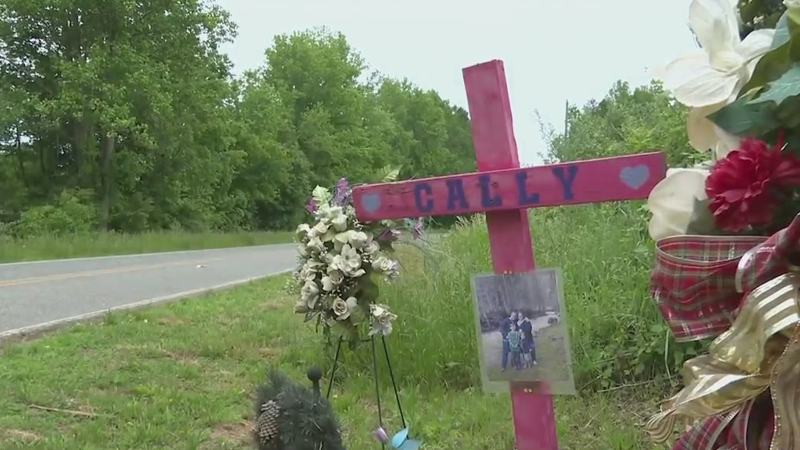 Randolph County family pushes for safer rural roads after mother of two killed in head-on crash