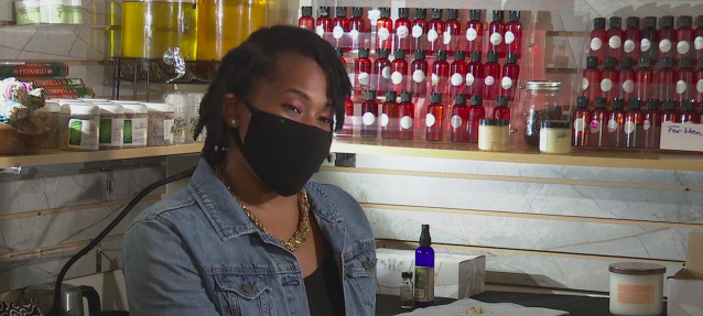 Local woman starts two businesses after closing school amid pandemic