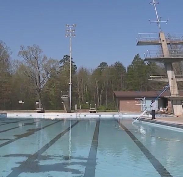 Triad swimming pool