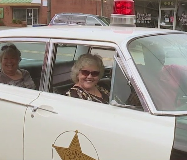 """That's because they look just like the one Sheriff Andy Taylor drove on """"The Andy Griffith Show."""""""