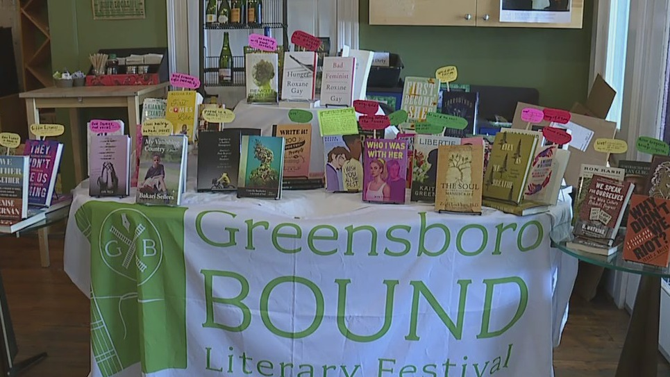 Greensboro Bound Literary Festival returns this weekend with '21 Conservations'