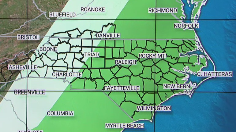 Risk of severe weather in Piedmont Triad continues Wednesday as cold front heads in